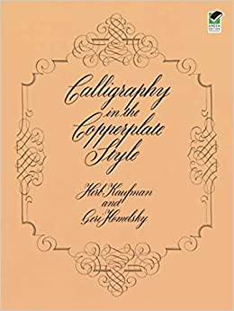 Calligraphy In The Copperplate Style Lettering