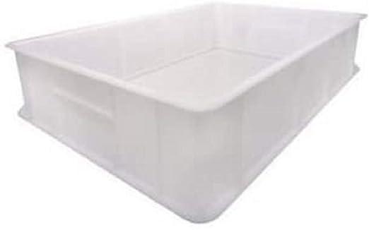 Giganplast Caja para masas de Pan y Pizza Mod. Service 30 x 40 x 10 cm. Color: Blanco.: Amazon.es: Hogar