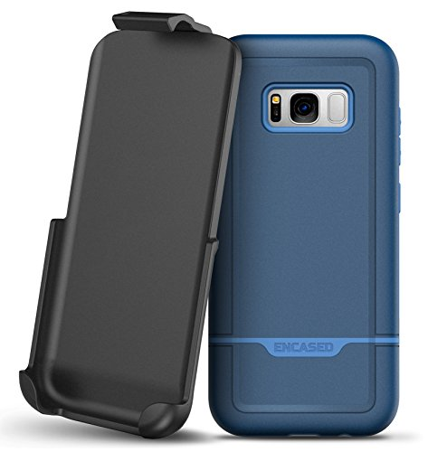Galaxy S8 Plus Belt Clip Case, Protective Impact Armor w/ Secure-fit Holster - Rebel Series By Encased (Samsung S8+)