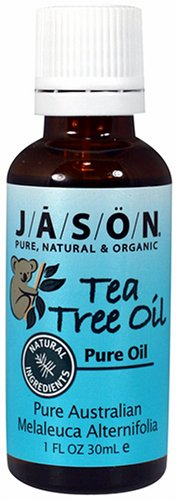 Jason 100% Pure Tea Tree Oil, 1-Ounce Bottles (Pack of 2), Health Care Stuffs