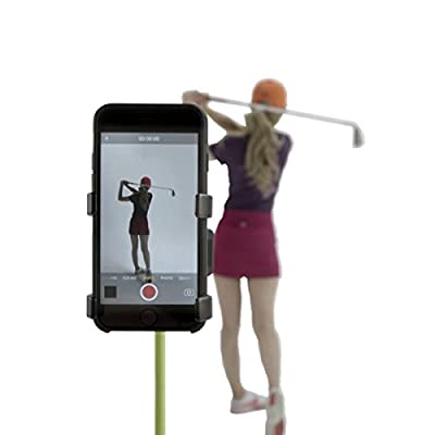Record Golf Swing - Cell Phone Clip Holder and Training Aid by SelfieGOLF TM - Golf Accessories | The Winner of the PGA Best New Product of 2017 | Compatible With Any Smart Phone, Quick Set Up