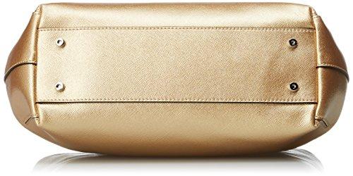 Coccinelle Borse a Platino secchiello Oro Donna Yamilet TrnpxqzZT