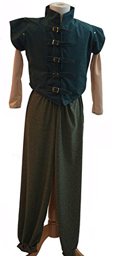 Dance-Solo-Stage-Panto Hero-World Book Day-Rapunzel TANGLED FLYNN RIDER Men's Fancy Dress Costume - All Adult Sizes (XXXXL) -