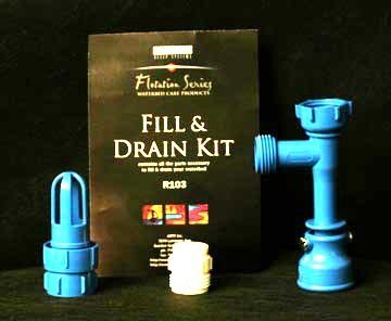 - Waterbed Mattress Fill & Drain Kit