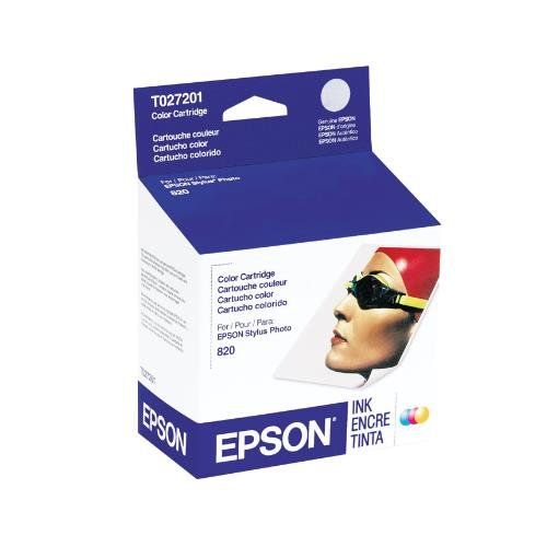 Epson T027201 OEM Ink - Stylus Photo 820/925 Color Ink (2...