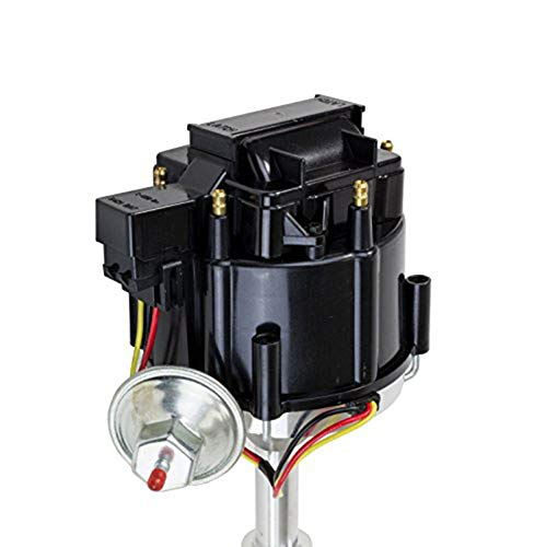 A-Team Performance Complete HEI Distributor 65K Coil 7500 RPM Compatible  With Chevrolet Chevy GM GMC Truck Late Model Inline 6 Cylinders 230 250 292