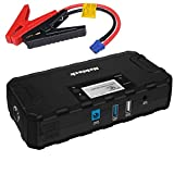 Nekteck Multifunction Car Jump Starter Portable External Battery Charger 600A Peak With 16800mAh