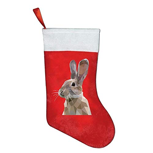 KMAND Christmas Stockings Animal Rabbit Art Style Personalized by KMAND
