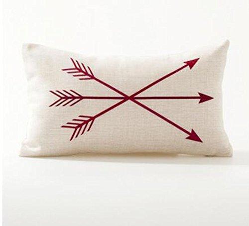 Lumbar Pillow Cotton Cushion Decorative