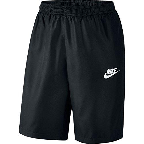 Nike M Nsw Breve Stagione Wvn Breve Per Gli Uomini Neri (nero / Bianco)