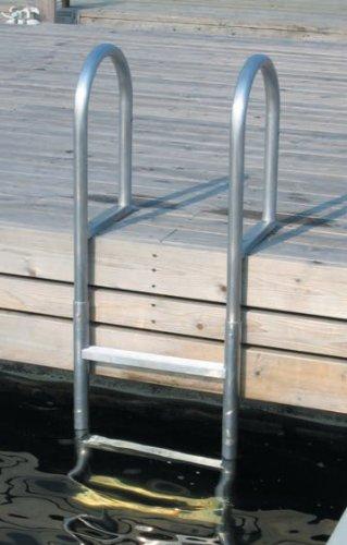 Dock Edge /Échelle de baignoire /à 3 /échelons en aluminium