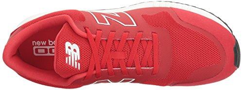 Mrl005 New Classiques Homme Blanc rouge Bottes Balance CnnxZwqgz1
