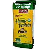 Nutiva Organic Hemp Protein Plus Fiber, 30 Ounce - 3 per case.