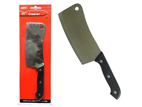KNIFE CLEAVER 6'' 1.2MM, Case of 96 by DollarItemDirect