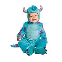 Disfraces de disfraces Disney Pixar Monsters University Sulley Clásico infantil, azul /púrpura, 6-12 meses