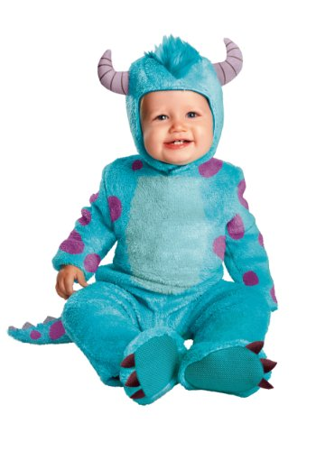 Disguise Costumes Disney Pixar Monsters University Sulley Classic Infant, Blue/Purple, 6-12 Months -