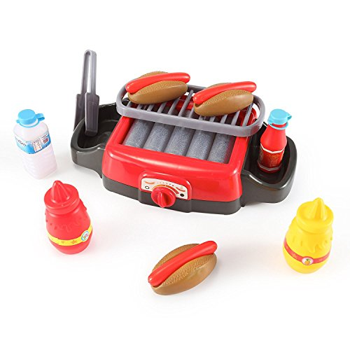 PowerTRC Hot Dog Roller Grill Electric Stove Play Food Kitch