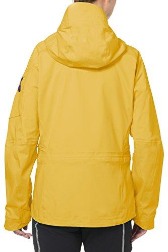 VAUDE Jacke Womens Boe Jacket - Cortavientos para mujer amarillo