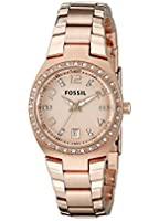 Fossil Serena Three Hand Stainless Steel Watch
