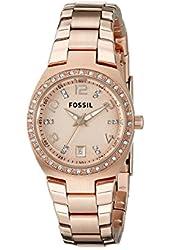 Fossil Serena Three Hand Stainless Steel Watch