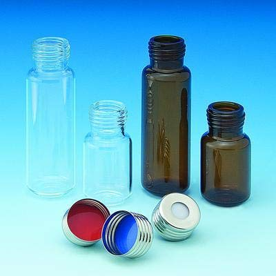 Vials Pack of 100 5709-30 Ace Glass Incorporated Headspace w//Thread Finish Screw Top Headspace Vials
