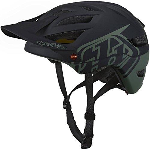 Troy Lee Designs A1 Classic Adult BMX Helmet - Black Trooper / - Lee Outlet