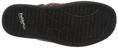 Red Chaussons Red Tabby 42 Padders Femme B5Ttwxq