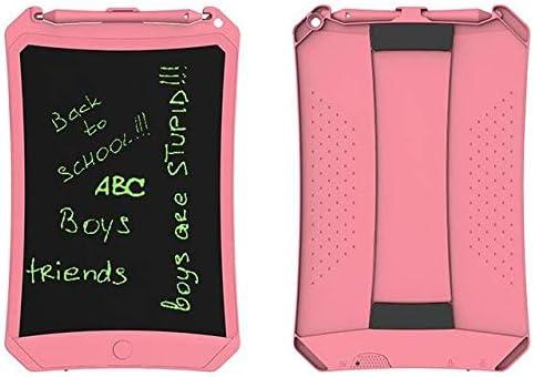 """LKJASDHL 8.5""""LCD LCDライティングボードペインティンググラフィティタブレットスケッチパッドメッセージボード学習玩具ライティングボードブギーボード (色 : Pink thick pen)"""