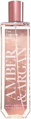 Bath and Body Works Amber and Argan Fine Fragrance Mist 8 Ounce Fall 2017