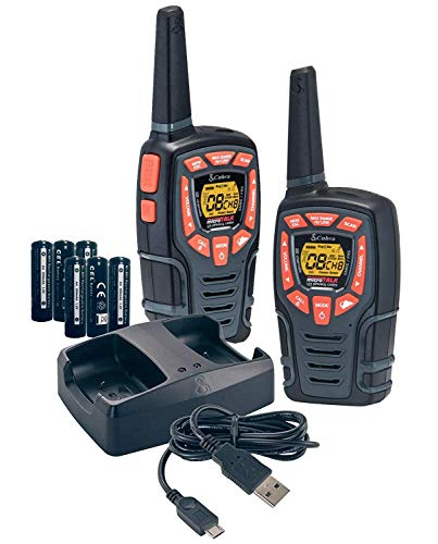 Cobra ACXT545 Walkie Talkies 28-Mile Two-Way Radios (Pair)
