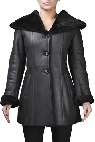 Leather Tailored Coat - 6