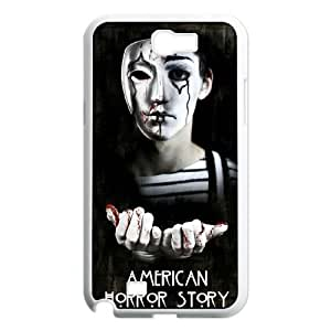 American Horror Story Customized Cover Case with Hard Shell Protection for Samsung Galaxy Note 2 N7100 Case lxa#310905