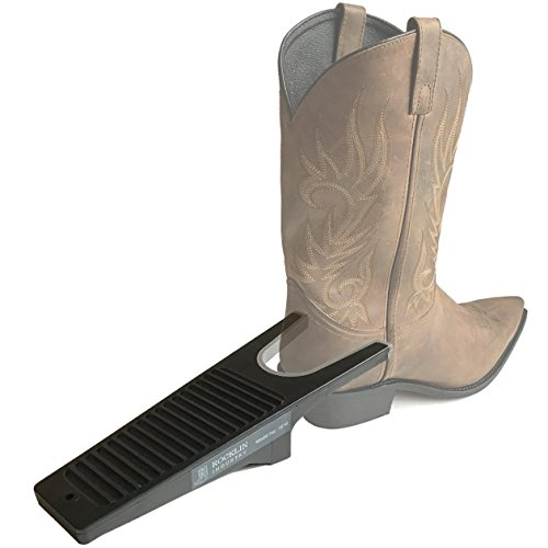 Industrial Boot Jack with Non-Staining RUBBER GRIP | One Size Fits All | Large 'U' Opening | Plastic Composite Boot Puller | WON'T STAIN | Remove Cowboy and Rubber Boots - Fit U Wellington
