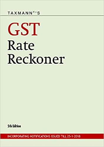 Taxmann's GST Rate Reckoner