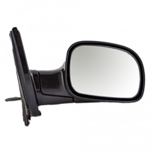 Voyager Mirror Door - Power Heated Side View Door Mirror Black Assembly Passenger Right RH