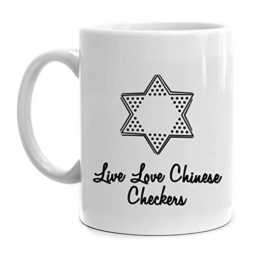 Checkers Love Chinese - Live love Chinese Checkers Mug
