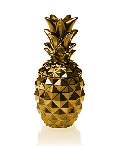 Candellana Candles Candlefort Concrete Candle- Pineapple Gold Scent: for Her
