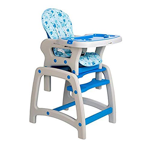 Dearbebe 3-in-1 Infant High Chair with Tray,Blue by Dearbebe (Image #6)