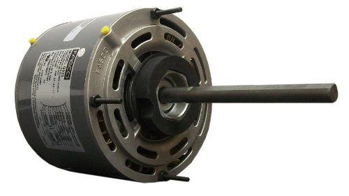 Fasco D729 5.6-Inch Direct Drive Blower Motor, 3/4 HP, 208-230 Volts, 1075 RPM, 3 Speed, 5.4 Amps, OAO Enclosure, Reversible Rotation, Sleeve Bearing