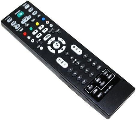Aerzetix: DIS17 Mando a distancia para televisor compatible con LG ...
