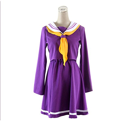 NO Game NO Life Cosplay Costume Skirt Dress Props Halloween Party Adult Fashion Women Accessory