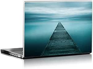 Evening Stillness Design Matte Laptop Skin for 15.7 inch Laptops