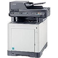 KYOCERA M6530cdn 1102NW2US0 Multifunction Laser Printer - 32 ppm - 9600 x 600 - USB - White/Grey (Certified Refurbished)