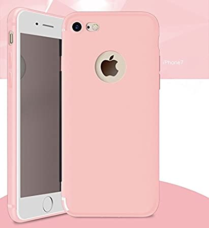 buy online c943b ab52a DORRON iPhone 7 Baby Pink - NEW Anti Skid Candy Color: Amazon.in ...