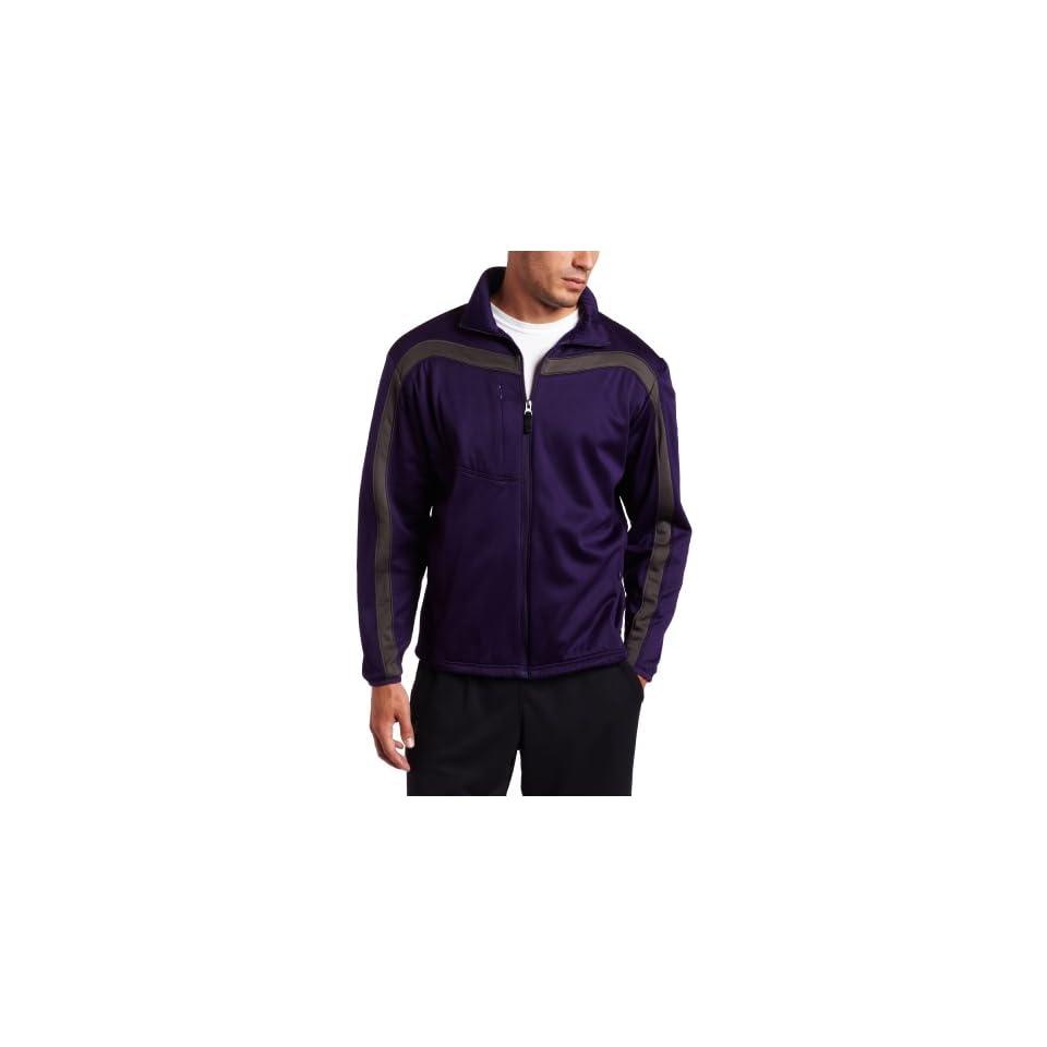 Antigua Mens Viper Full Zip Jersey Fleece Long Sleeve Fleece