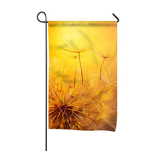 Garden Flag Beautiful Dandelion Double-sided, Yard Flag to Brighten Up Your Home