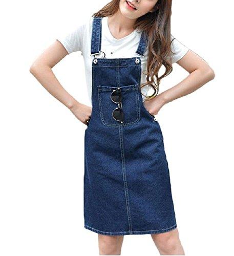 Damen Kleid Lazutom Lazutom Damen Blau Kleid t4pqOxWdgw