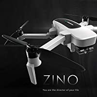 GoolRC Hubsan H117S Zino RC Drone with Camera 4K UHD GPS WiFi 5G FPV Drone, Brushless Motor Foldable Arm 3-Axis Gimbal RC Quadcopter with Storage Bag Car Charger 2 Battery Spare Propeller