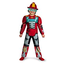 Boy's Transformers Heatwave Rescue Bots Toddler Muscle Costume, 3T-4T