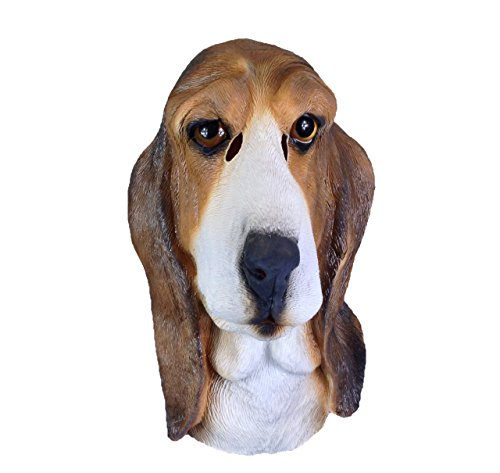 The Dog Beagle Costume (Bloodhound Mask, Beagle , Animal Mask , Dog Mask , Basset Hound, Latex , Full Head)